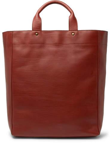 Dries Van Noten Leather Tote Bag