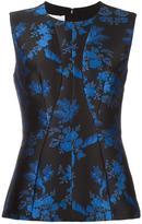 Stella McCartney sleeveless floral print blouse