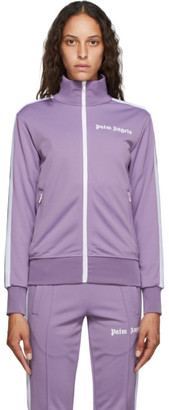 Palm Angels Purple Classic Track Jacket
