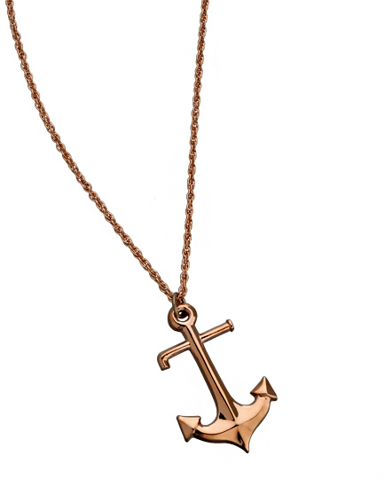 Kendra Phillip Anchor Necklace