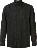 Issey Miyake tonal splatter print shirt - men - Polyester - 3