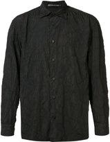 Issey Miyake tonal splatter print shirt