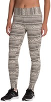 Columbia Hood Mountain Lodge Jacquard Leggings (For Women)
