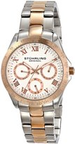 Stuhrling Original Women's 774L.03 Symphony Regal Analog Display Quartz Two Tone Watch