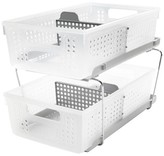 Made Smart Madesmart 2-Tier Organizer with Dividers - Grey