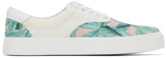 Amiri Off-White Banana Leaf Sneakers