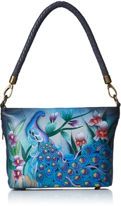 Anna by Anuschka Women's Hand Painted Leather Shoulder Hobo