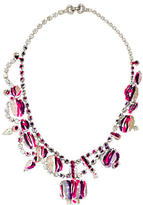 Tom Binns Painted Crystal Collar Necklace