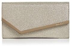 Jimmy Choo Emmie Small Glitter Leather Crossbody