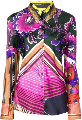 Chloé Caravan print shirt