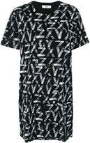 Versus oversized T-shirt - women - Cotton/Spandex/Elastane - XS