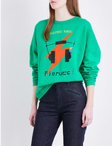 Fiorucci Electric muse cotton-jersey sweatshirt