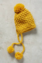 Anthropologie Pom Pom Trapper Hat