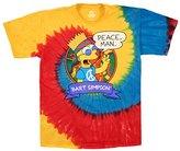 Liquid Blue Men's Simpsons Peace Man T-Shirt