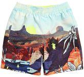 Billybandit Desert Printed Nylon Swim Shorts