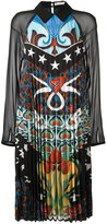 Mary Katrantzou 'Fortune' heart nouveaux pleated dress - women - Silk - 8