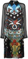 Mary Katrantzou 'Fortune' heart nouveaux pleated dress - women - Silk - 8