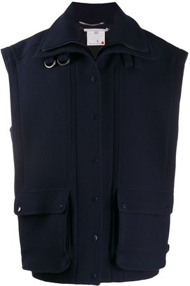Stella McCartney Oversized Wool Gilet