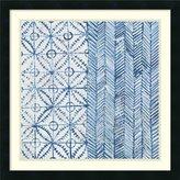 Amanti Art Framed Art Print 'Maki Tile VII' by Kathrine Lovell