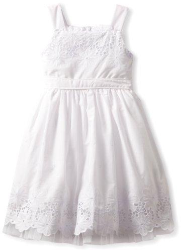 Sweet Heart Rose Girls 2-6X Eyelet Dress