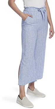 Vince Camuto Striped Wide Leg Pants