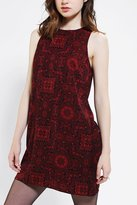 Urban Outfitters Staring At Stars Silky Zip-Back Shift Dress