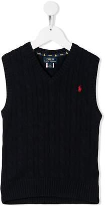 Ralph Lauren Kids v-neck vest