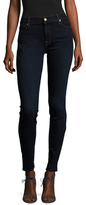 7 For All Mankind Embroidered Skinny Jean