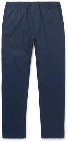 Acne Studios Ari Slim-fit Stretch-cotton Drawstring Trousers