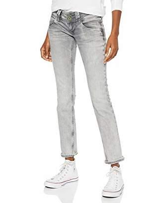 Pepe Jeans Women's Venus Pl200029 Straight Jeans, (Grey Wiser Wash Denim Wu5), W32/L32