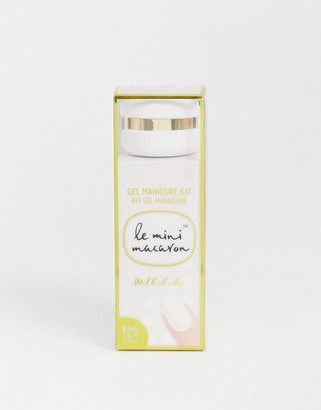 Le Mini Macaron Gel Manicure Kit - Milkshake