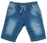 Diesel Boys' Krooley Denim Slim Fit Shorts - Sizes 4-16