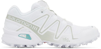 Salomon White Limited Edition Speedcross 3 ADV Sneakers