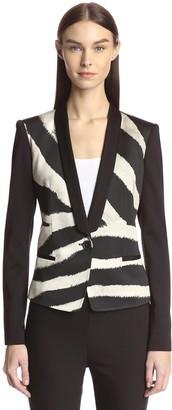 Just Cavalli Women's Front Print Jacket