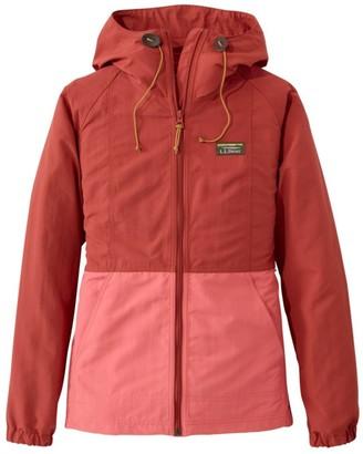 L.L. Bean Women's Mountain Classic Full-Zip Jacket, Colorblock