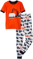 Petit Lem Tractor Pajama - 2-Piece Set (Toddler & Little Boys)