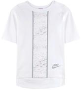 Nike Splatter Printed Cotton-blend T-shirt