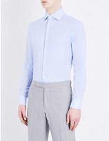 Corneliani Slim-fit cotton shirt