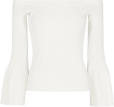 Jonathan Simkhai Off Shoulder Knit Top