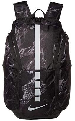 Nike Hoops Elite Pro Backpack (Black/Black/Silver) Backpack Bags