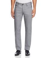 Armani Collezioni Five Pocket Straight Fit Jeans in Grey