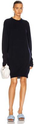 Maison Margiela Tabi Sweater Dress in Navy | FWRD