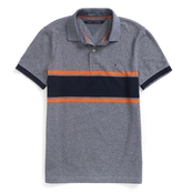 Tommy Hilfiger Final Sale-Custom Fit Novelty Stripe Polo