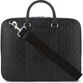 Gucci Gg Medium Leather Briefcase