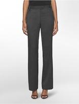 Calvin Klein Straight Birdseye Suit Pants