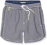 Scotch Shrunk Boy's 'Sporty' Swimshorts with Piping Detail Swim Shorts