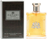 Ralph Lauren Safari Men's 4.2Oz Eau De Toilette Spray