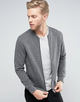 Jack and Jones Zip Through Sweat