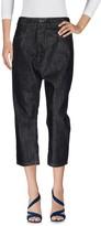 Rick Owens Denim pants - Item 42609437