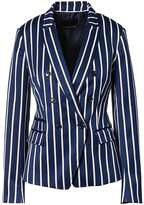 Banana Republic Double-Breasted Fit Stripe Blazer